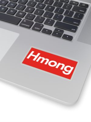 Supreme Hmong Sticker