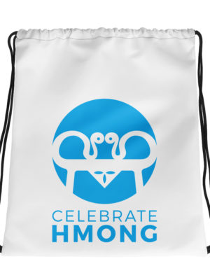 Celebrate Hmong Drawstring bag