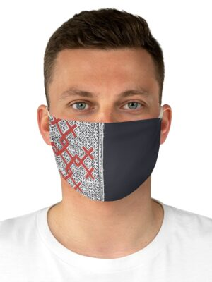 Life Blood – Reverse Applique Print Fabric Face Mask