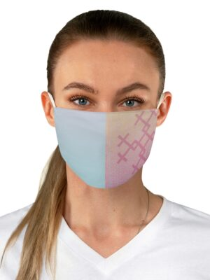 Life Blood: Pastel – Reverse Applique Print Fabric Face Mask